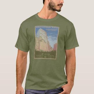 Overhemd van het Poster van het Park van Zion het T Shirt
