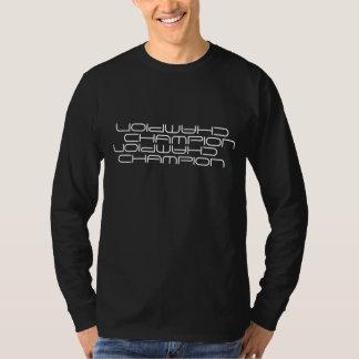 Overhemd van het Sleeve van de kampioen het Lange T Shirt