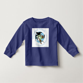 Overhemd van het sleeve van de peuter het Lange Kinder Shirts