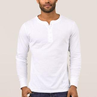 Overhemd van het Sleeve van Henley van het Canvas T Shirt