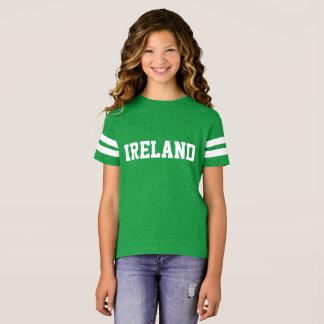 OVERHEMD van het SLEEVE van Ierland het LANGE T Shirt