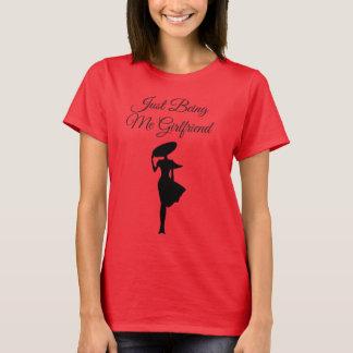 Overhemd van het T-shirt van vrouwen het Rode