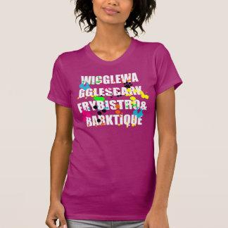 Overhemd van Splat van het Wit & van de Kleur van T-shirts