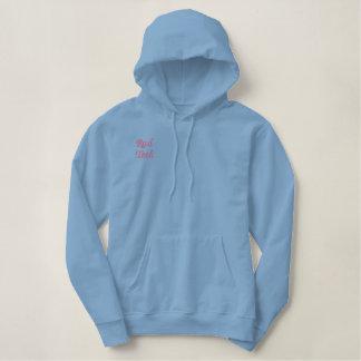 Overhemd van Technologie van rad het Blauwe Hoodie
