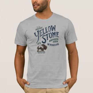 Overhemd van Wyoming van de Bizon van het Park van T Shirt
