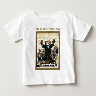 Overhemd voor Leider/het Kind van de Directeur Baby T Shirts
