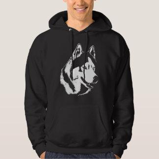 Overhemden de Met een kap van de Hond van het Hoodie