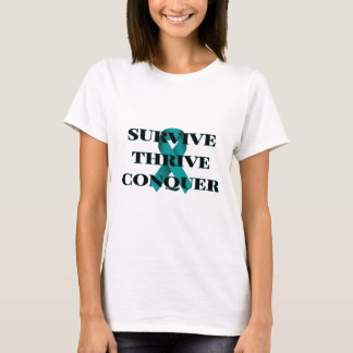 Overleef bloeien veroveren de T-shirt van Vrouwen