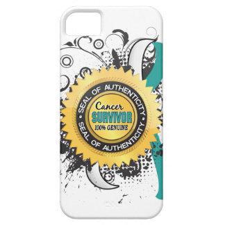 Overlevende 23 van kanker Cervicale Kanker Barely There iPhone 5 Hoesje