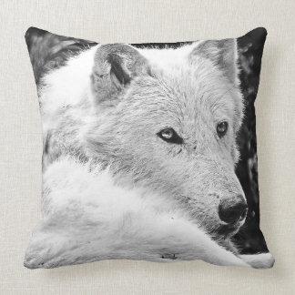 Overweldigende Witte Wolf Kussen