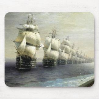 Overzicht van de Vloot van de Zwarte Zee Muismat
