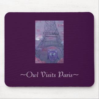 ~Owl bezoeken Paris~ Muismat