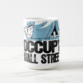 Oxygentees bezet Wall Street Koffiemok