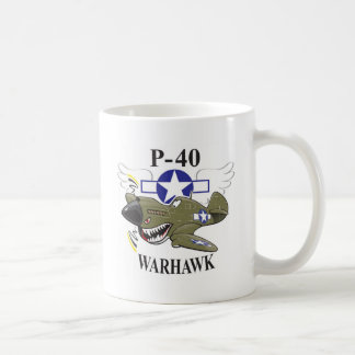 p-40 warhawk koffiemok