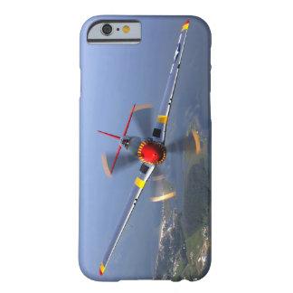 P-51 het Vliegtuig van de Vechter van de mustang Barely There iPhone 6 Hoesje