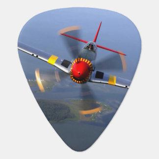 P-51 het Vliegtuig van de Vechter van de mustang Gitaar Plectrum 0
