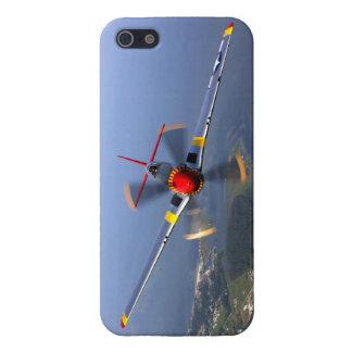 P-51 het Vliegtuig van de Vechter van de mustang iPhone 5 Hoesjes