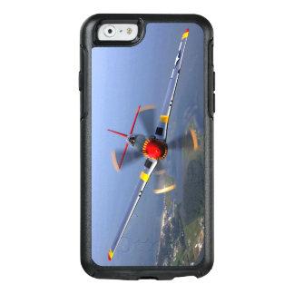 P-51 het Vliegtuig van de Vechter van de mustang OtterBox iPhone 6/6s Hoesje