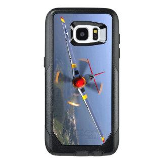 P-51 het Vliegtuig van de Vechter van de mustang OtterBox Samsung Galaxy S7 Edge Hoesje