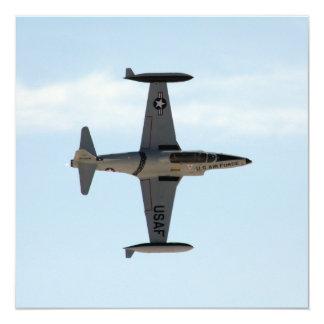 P-80 vallend ster 13,3x13,3 vierkante uitnodiging kaart