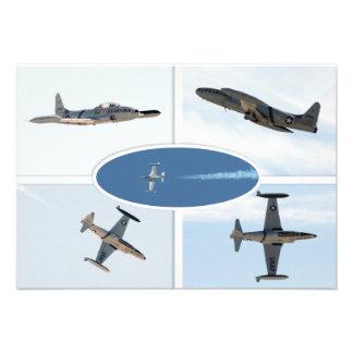P-80 vallend ster 5 de Reeks van het Vliegtuig Persoonlijke Uitnodiging