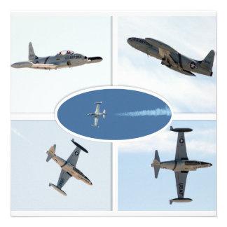 P-80 vallend ster 5 de Reeks van het Vliegtuig Uitnodiging