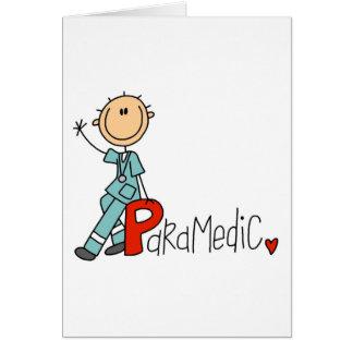 P is voor Paramedicus Wenskaart