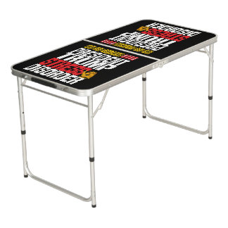 P.T.S.D. (Donkere) troef Beer Pong Tafel