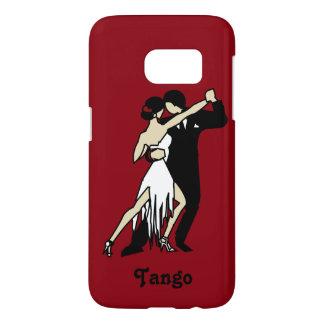 Paar die de Tango dansen Samsung Galaxy S7 Hoesje