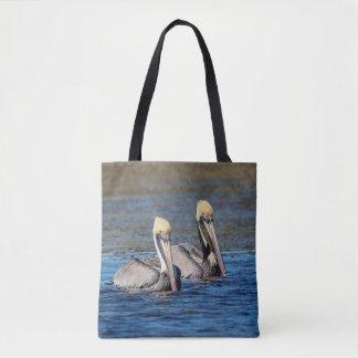 Paar Pelikanen Draagtas