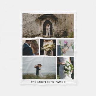 Paar Zes van het huwelijk Foto's | Gift van het Fleece Deken