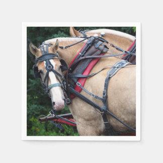 Paard 387 van het ontwerp wegwerp servet