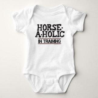 Paard-a-Holic in de Klimplant van het Baby van de Romper