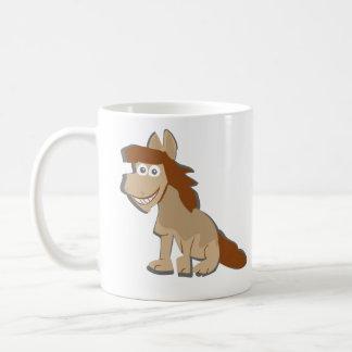 Paard aangedreven koffiemok