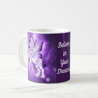 Paard Clydesdale van de Fee van de fantasie het Koffiemok
