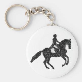 Paard en Ruiter van het Mozaïek van de Keten van Sleutelhanger