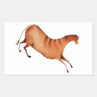 Paard La Altamira Rechthoekige Sticker