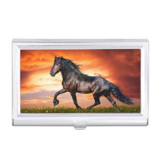 Paard Visitekaarthouder