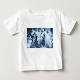 paarden baby t shirts