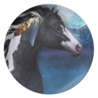 paarden de giftbord van het geestpaard melamine+bord