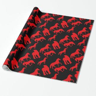 Paarden Inpakpapier