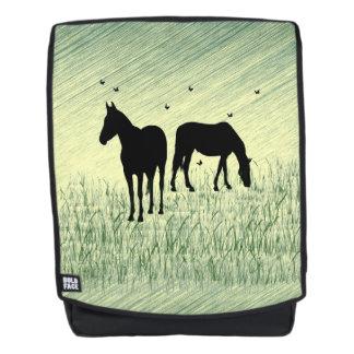 Paarden op Gebied Rugtassen