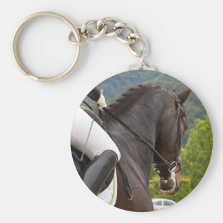 Paardrijden Sleutelhanger