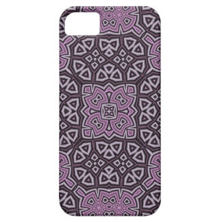 Paars Abstract Patroon Barely There iPhone 5 Hoesje
