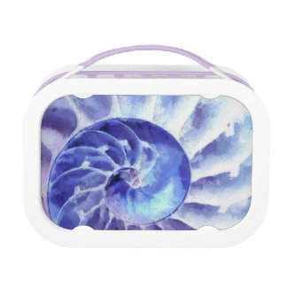 Paars Art. Nautilus Lunchbox