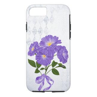 paars bloemboeket met lint iPhone 8/7 hoesje