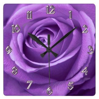 Paars en Lavendel nam Klok toe