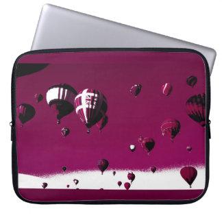 Paars Heet Laptop van het Poster van de Kunst van Computer Sleeve Hoezen