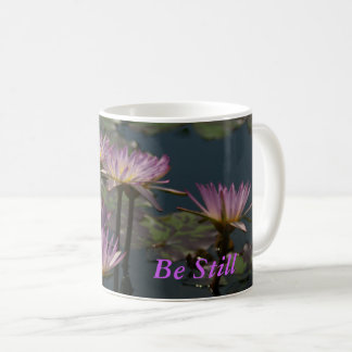 Paars Lotus Waterlilies Koffiemok