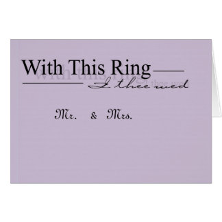 paars met dit ringsprogramma wenskaart
